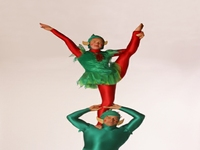 Traditional Christmas Acrobats