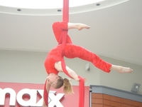 Christmas Themed Aerial Acts