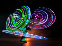 Hula Hoop Acts for Christmas Events